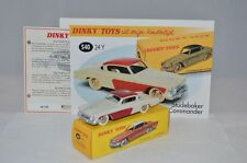 Dinky Toys Atlas 540 24 Y Studebaker mint in box with leaflat and certificate