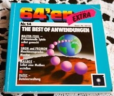 64´er Software EXTRA Nr.14 ,The Best of Anwendungen,Markt&Technik Buch