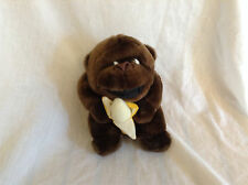 "Gorilla w/ Banana 7"" Stuffed Plush Toy"