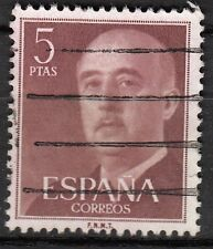 TIMBRE ESPAGNE  OBL N° 867  GENERAL FRANCISCO FRANCO  HELIOGRAVES