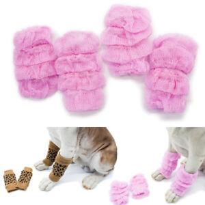 2 Pairs Comfortable Pet Leg Leggings Cat Puppy Socks Dog Joint Knee Pads Warm