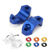 "CNC Universal Rotating Bar Clamp For Brake Clutch Perch  22mm 7/8"" Handlebar"