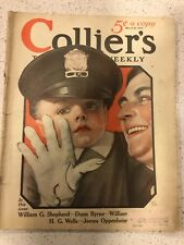 COLLIER'S Magazine March 21 1925. Rare Antique Illustrated Weekly Publication.