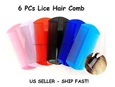 Lice hair comb - All 6 PCs The Best Head Lice Comb, Nit Hair Comb *US SELLER*