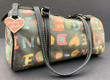 DOONEY & BOURKE Women's Multicolor Leather Trim Purse Handbag