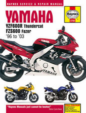 HAYNES 3702 MOTORCYCLE REPAIR MANUAL YAMAHA YZF600R THUNDERCAT 1996 - 2003