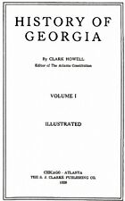 4 Volume Genealogy & History of Georgia GA