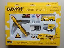 Spirit Airplane Airport Playset Bus Signs Etc Daron Toys Diecast