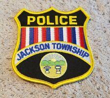 Jackson Township Ohio Police Shoulder Patch