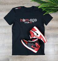 *PERFECT* Shirt to match Homage to Home Air Jordan 1 Retro  SZ Medium