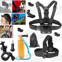 Accessories Kit Set Chest Head Strap Mount Blike Mount holder for Action Camera