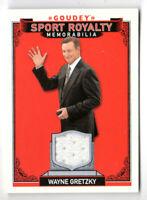 2016 Goodwin Champions Goudey Sport Royalty WORN RELIC Wayne Gretzky #SRM-WG!