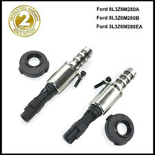 New 2 PCS Camshaft Timing Solenoid With Seal and Screw For Ford 5.4L 3V 04-08