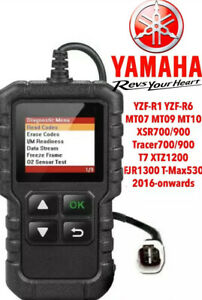 Yamaha FI OBD2 fault code scanner diagnostic tool MT10 MT09 MT07 XSR R1 R6 T7