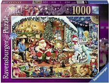 Ravensburger 1000 piece jigsaw puzzle Let's Visit Santa Limited Ed New & Sealed