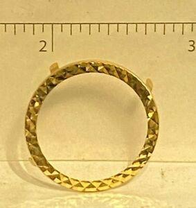 new replacment  bezel  fulll sovereign   ring  @  03320