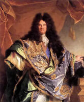 Art oil painting hyacinthe rigaud - man portrait of phillippe de courcillon 36""