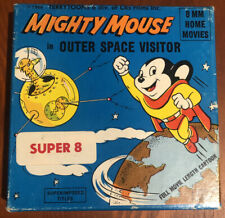 Vintage 1966 Mighty Mouse in Outer Space Visitor 8mm Movie Ken Films 555 Cartoon