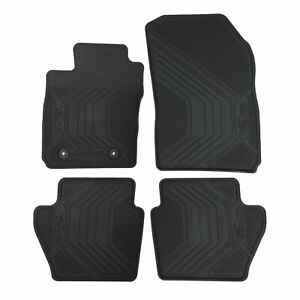 OEM NEW 2011-2019 Ford Fiesta All Weather Rubber Floor Mats BE8Z-5413300-AB