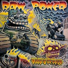 Raw Power - Inferno LP D.R.I. POISON IDEA MDC NAKED AGRESSION DEAD KENNEDYS