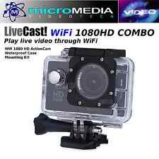 CamTRAX 1080 HD WiFi Action Cam -Waterproof Case/Bike Mount Bundle Compare GoPro