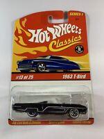 Hot Wheels Classics Series 1 - 1963 Ford T-Bird Thunderbird - Redline