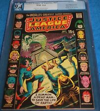JUSTICE LEAGUE #83 PGX/CGC 9.4 DEATH OF THE SPECTRE! 14 HEROES TOUGH BLACK COVER