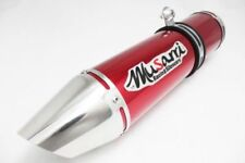 Aluminum Red Motorcycle Silencers, Mufflers and Baffles