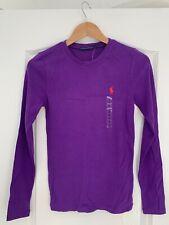 Ralph Lauren - Women's Purple Long Sleeve T-Shirt - Size: M / Medium (BRAND NEW)