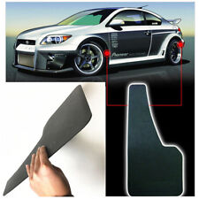 2pcs Universal Racing Car Mudflaps Wheel Moulding Fender Mudguard 49.5*30cm