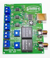"Nuova interfaccia USB per radioamatori mod. ""De Luxe 2.2""  (FT8 RTTY PSK31 CW)"