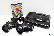Sega Mega Drive KONSOLE - inkl. 2 Orig. Controller, alle Kabel und Mega Games 1