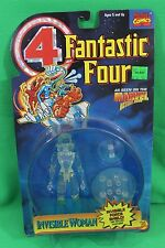 Fantastic Four Animated Clear Invisible Woman Force Shield Figure New on Card
