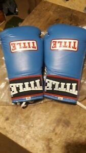 TITLE BOXING 10OZ  COMPETITION GLOVES NEW