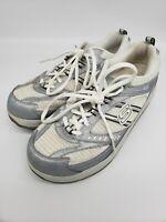 🔥 Sketchers Shape Ups Women's Walking/Toning Shoes 11814 White Silver Size 8