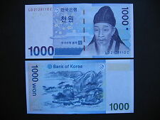 SOUTH KOREA  1000 Won 2007  (P54a)  UNC