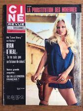 Ciné Revue n 46 1971 Shirley CORRIGAN Ryan O'NEAL Dorothy LAMOUR Dora DOLL