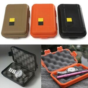 Outdoor camping Shockproof case Waterproof storage box survival kit container