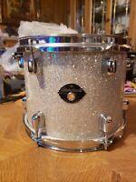 "Tama Starclassic made in Japan Diamond dust glitter 10"" rack tom with mount"