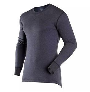 ColdPruf Authentic Wool  Crew Baselayer XXL 2XL (XX-Large NAVY BLUE) 93C3XNB