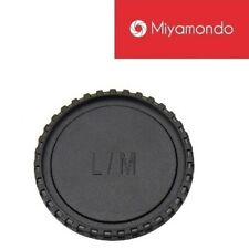 JJC L-R11 Body & Rear Lens Cap Set for Leica M Lens/Camera