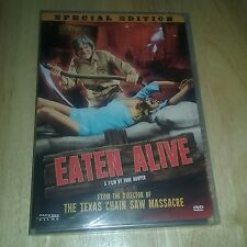 Eaten Alive (Dvd, Special Edition) Sealed New Texas Chainsaw Massacre Director