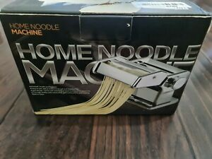 Home Pasta Maker Stainless Steel Pasta Noodle Roller Machine Silver Open Box