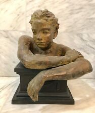 Lina Binkele, Woman with Arms (Bronze Sculpture)