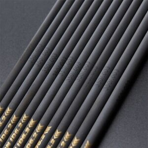 33inch Pure Carbon Arrows Shaft SP300-600 for Archery Hunting Arrows DIY Making