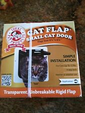 """New listing Ideal Products Small Pet Flap Door - 4 Way Lock (6.25"""" x 6.25"""" Flap Size) New"""