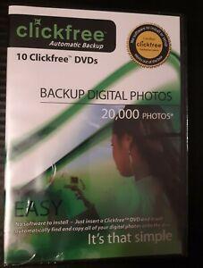 ClickFree Automatic Backup for Digital Photos- Windows XP, Windows VISTA & 2000