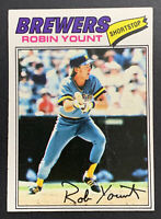 1977 Topps Robin Yount #635, Milwaukee Brewers