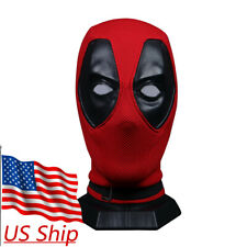 Cosplay Deluxe Deadpool Full Face Mask Breathable knitted Helmet Halloween Props