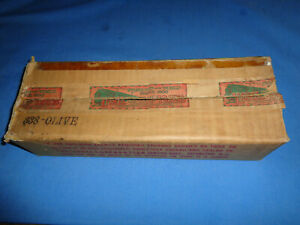 Original Box for Lionel #338 Olive Green Passenger Car Box